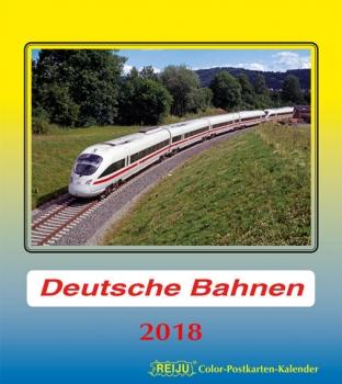 Deutsche Bahnen 2018