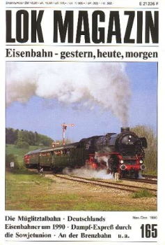 Lok Magazin 165 · Nov/Dez. 1990