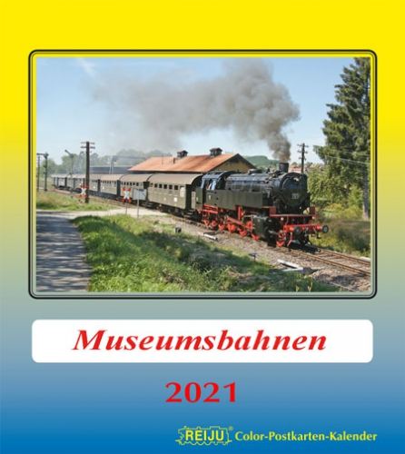 Museumsbahnen 2021