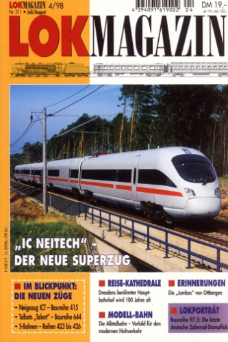 Lok Magazin 211 · Juli/Aug. 1998